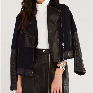 BlankNYC • Sour Face Faux Leather Jacket
